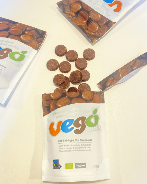 Vego Hazelnut Chocolate Melts