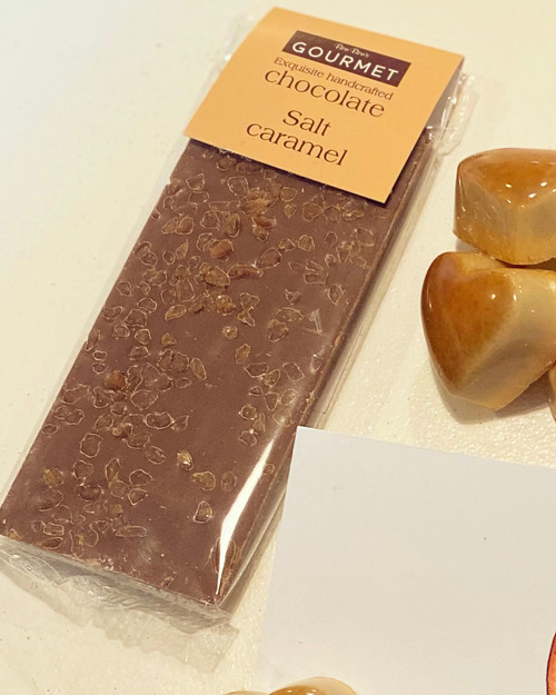 Milk Chocolate Salted Caramel Bar