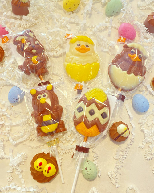 Easter Chocolate Lolipops