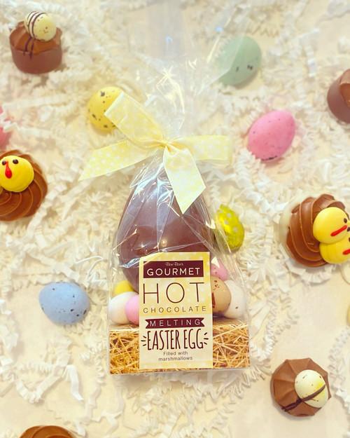Hot Chocolate Melting Easter Egg