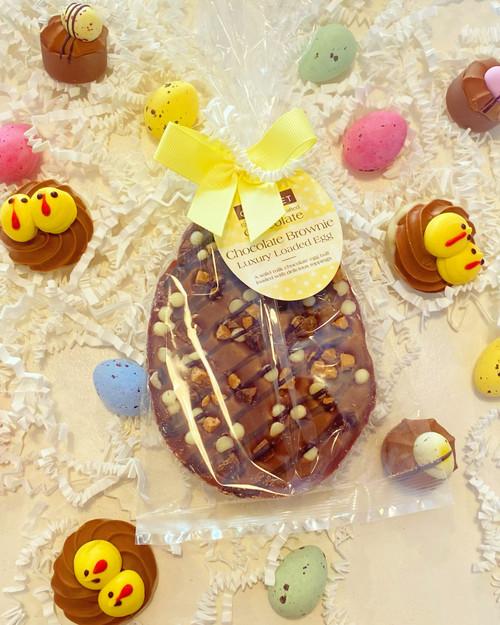 Brownie Loaded Egg