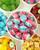 Vegan handmade boiled bubblegum fizz flavoured sweet
