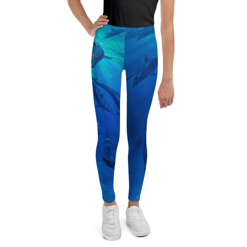 Freedom Pitre Style Wearable Art Youth Leggings