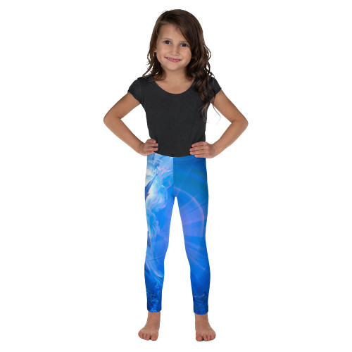 Of Consciousness and Light Pitre Style Wearable Art Kid's Leggings