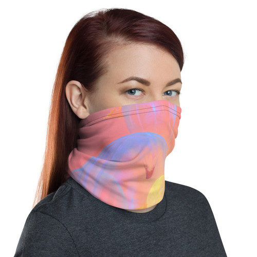 Drifters Pitre Style Fashion Fantasy  Art For Everyone Neck Gaiter. This neck gaiter is a versatile accessory that can be used as a face covering, headband, bandana, wristband, and neck warmer. Upgrade your accessory game and find a matching face shield for each of your outfits. • 95% polyester, 5% elastane (fabric composition may vary by 1%) • Fabric weight: 6.19 oz/yd² (210 g/m²) • Breathable fabric • Washable and reusable • Four-way stretch fabric that stretches and recovers on the cross and lengthwise grains • One size • Printed on one side, reverse side is left blank.