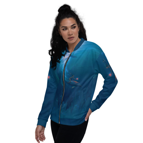 Unity Bomber Jacket Pitre Style Wearable Art For Everyone
