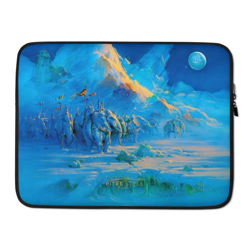 Explorers Pitre Style Fine Art Laptop Sleeve