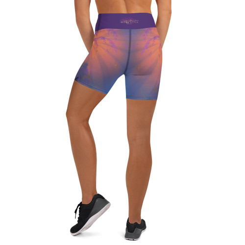 Meditation Pitre Style Wearable Art Comfort Band Yoga Shorts