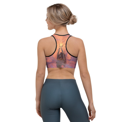 Humanity Pitre Style Wearable Art Sports Bra