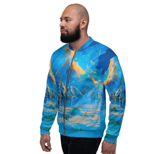 Explorers Bomber Jacket Pitre Style Wearable Art For Everyone