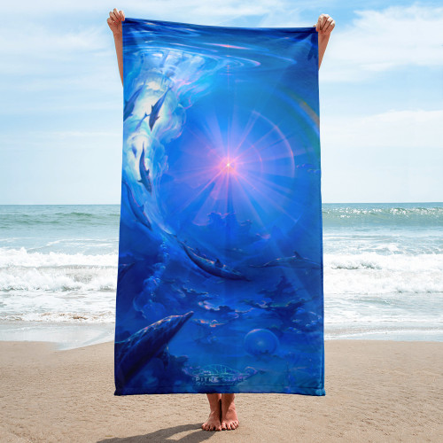 Of Consciousness and Light Pitre Style Fashion Fantasy Art Towel