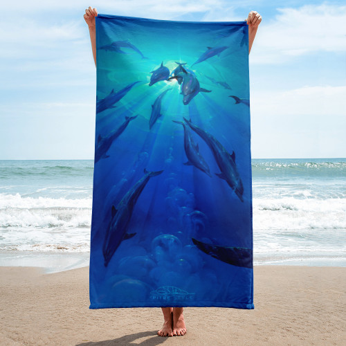 Freedom Pitre Style Fine Art Home and Outdoor Towel