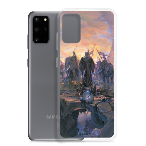 In the Company of Giants Pitre Style Fine Art Samsung Case