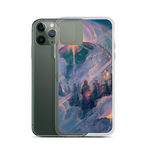 Ascension Pitre Style Fine Art iPhone Case