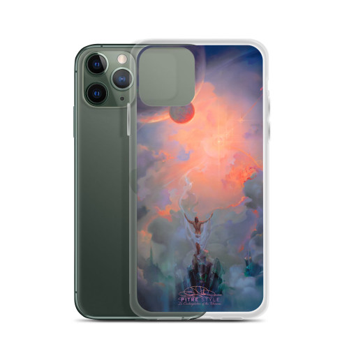 In Contemplation of the Universe Pitre Style Fine Art iPhone Case