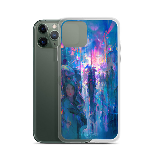 Night Street Pitre Style Fine Art iPhone Case