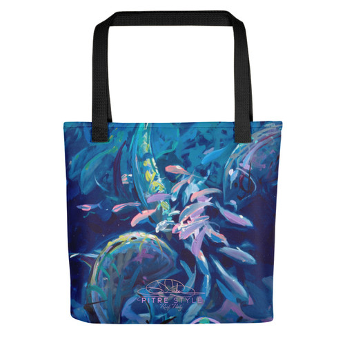 Reef Party Pitre Style Fine Art Tote Bag