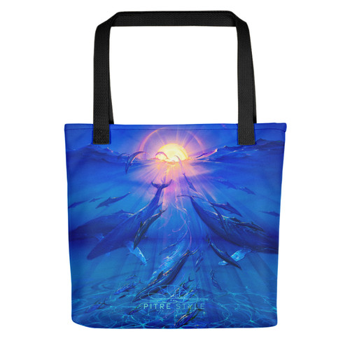 Pacific Sunrise Pitre Style Fine Art Tote Bag