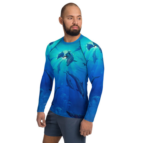 Freedom Pitre Style Wearable Art Men's Rash Guard