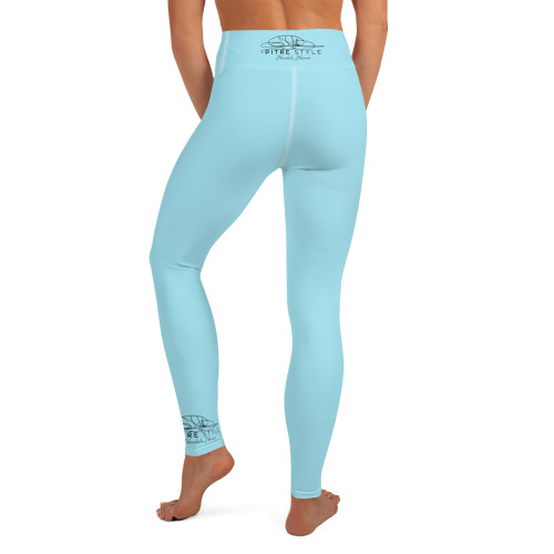 Waikiki Blue Pitre Style Black Signature Fine Fashion & Fantasy Art Comfort-band Yoga Pants. These Waikiki Blue Pitre Style super soft, stretchy and comfortable yoga leggings. Order these to make sure your next yoga session is the best one ever!