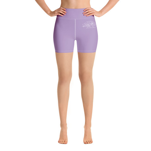 These Signature Series comfort-band yoga shorts by John Pitre, have a body-flattering fit that will make you feel super comfortable even during the most intense workouts. Designed in part by Casidy Rae, they come with a high waistband and are made from soft microfiber yarn. Everyone that wears them say its their most comfortable set of active wear shorts/tights they've ever had.  • 82% polyester, 18% spandex  • Very soft four-way stretch fabric  •Comfortable high waistband  • Triangle-shaped gusset crotch  • Flat seam and cover-stitch
