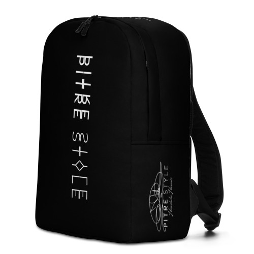 Presenting Spine Pitre Style backpacks designed in part by Casidy Rae and the Pitre Style team. If you feel like you're carrying half of your belongings with you at all times, this backpack is for you! It has a spacious inside compartment (with a pocket for your laptop), and a hidden back pocket for safekeeping your most valuable items.