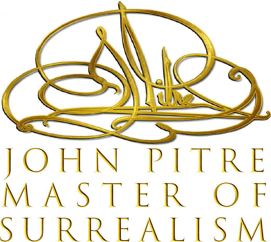 John Pitre Master of Surrealism, Wearable Fine Art and Accessories, Fine Art Paintings