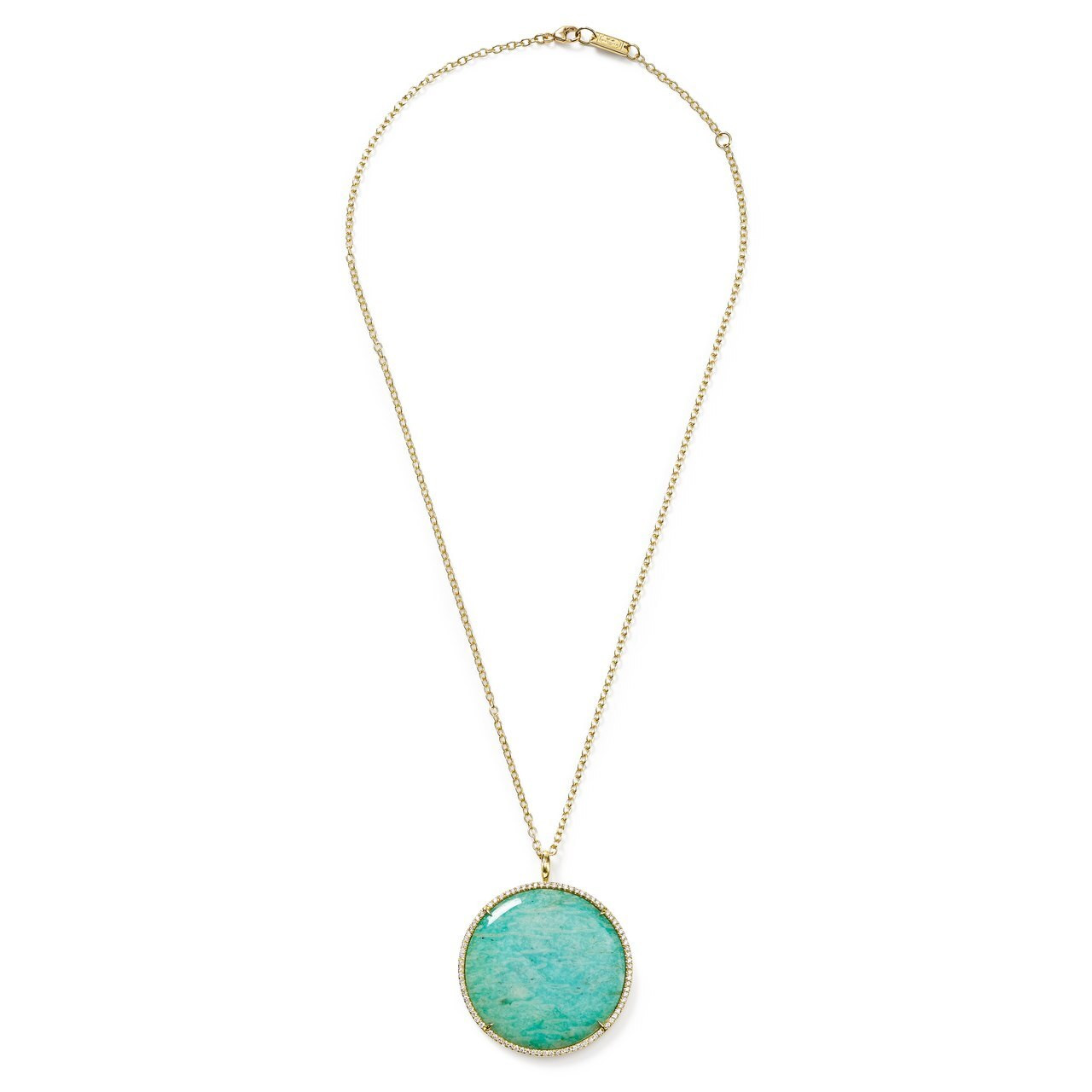 Ippolita Rock Candy Round Pendant Necklace In 18k Gold With Diamonds