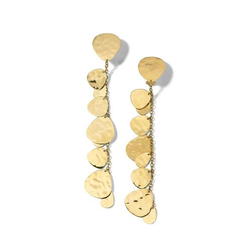 Crinkle Nomad Clip Earrings in 18K Gold GE2244CLIP