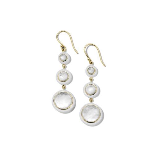 Carnevale 3-Drop Earrings in 18K Gold GE2297DFMOPOW2