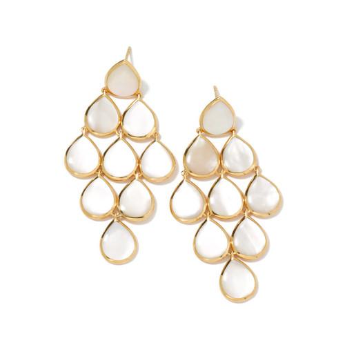 Cascade Earrings in 18K Gold GE431MOPC