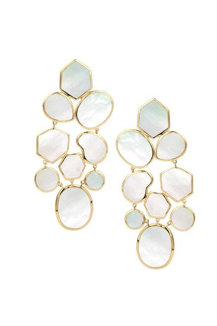 Mosaic Earrings in 18K Gold GE883MOPSL