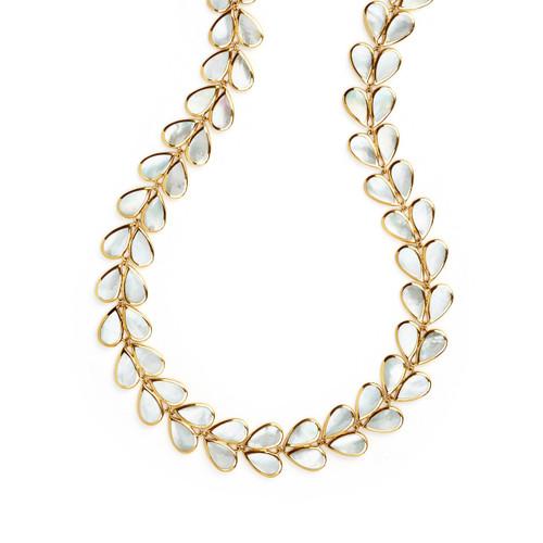 Laurel Necklace in 18K Gold GN1030MOP