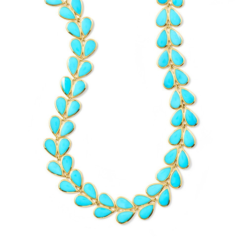 Laurel Necklace in 18K Gold GN1030TQ