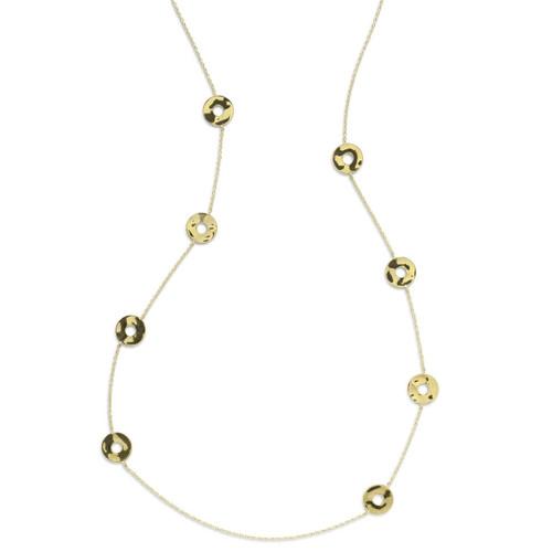 8-Station Necklace in 18K Gold GN1109