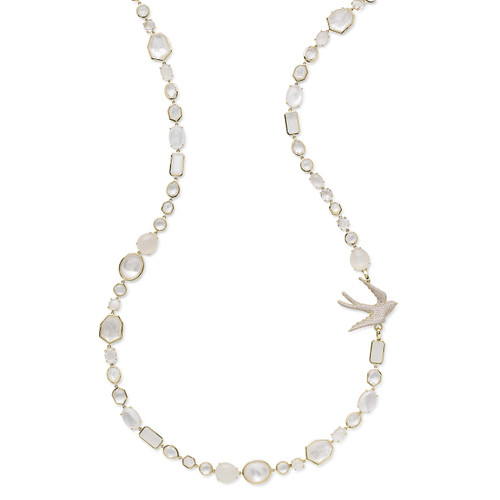 Sofia Necklace in 18K Gold with Diamonds GN1239FLIRTDIA