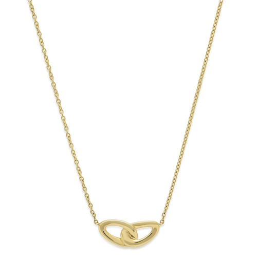 Bond Pendant Necklace in 18K Gold GN1267