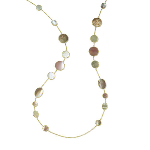 Crazy 8's Necklace in 18K Gold GN1542DAHLIA