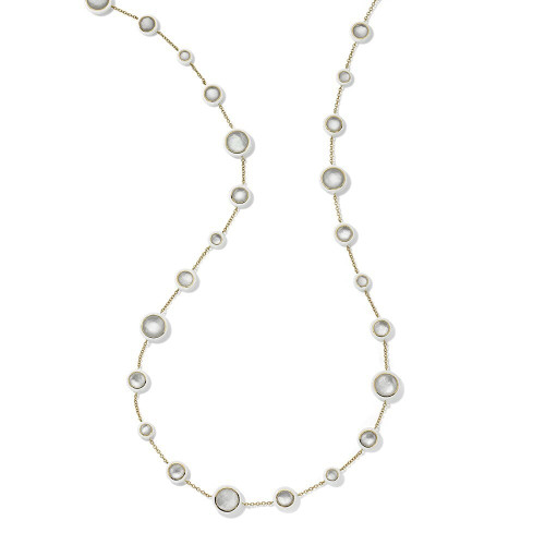 Carnevale Long Lollitini Necklace in 18K Gold GN1551X36DFMOW2