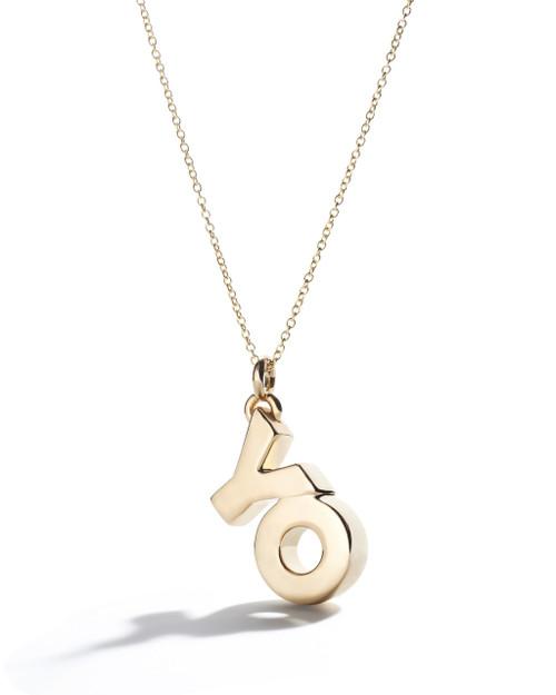 OY/YO Charm in 18K Gold GN1560