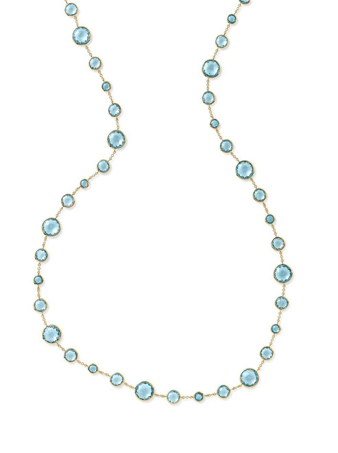 Lollitini Long Necklace in 18K Gold GN618X36BTSBT