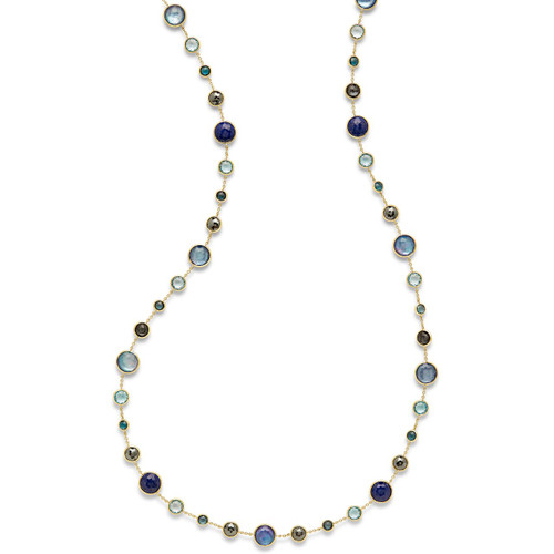 Lollitini Long Necklace in 18K Gold GN618X36MIDRAIN