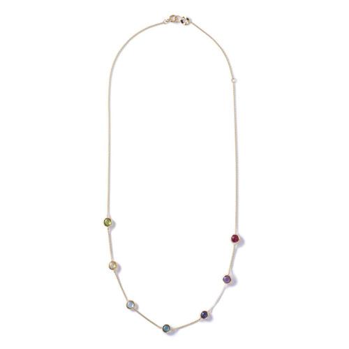 Mini Gelato Necklace in 18K Gold GN851LOLRAINBOW