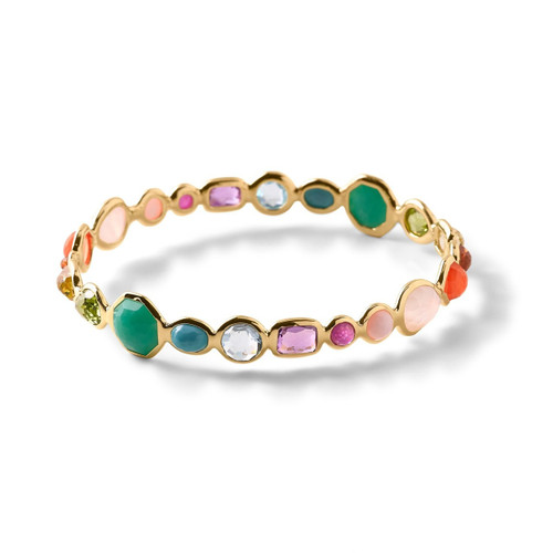 Hero Gelato Bangle in 18K Gold GB237SUMRAINBOW