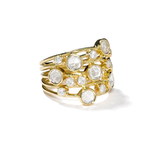 Constellation Ring in 18K Gold with Diamonds GR047DIA-A
