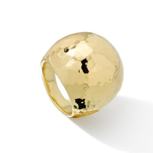 Dome Ring in 18K Gold GR138