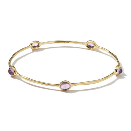 5-Stone Bangle in 18K Gold GB254AM