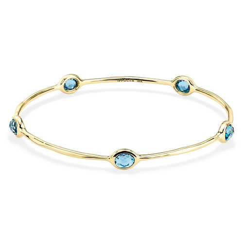 5-Stone Bangle in 18K Gold GB254LBT