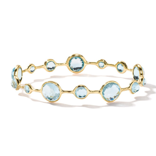 Open Bangle in 18K Gold GB363BT-PA