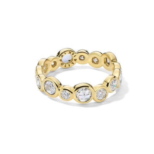 Superstar Eternity Ring in 18K Gold with Diamonds GR816DIA